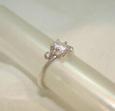 GOOIX SET Silber 925 3 Stück Damenring Dreierring NEU Gr 52 16,5 Zirkon Ring 156