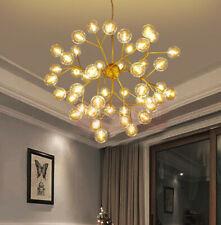 LED Modern Living Room Chandelier Restaurant Ceiling Glass Pendant Lamp #1058