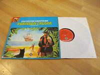 LP Das Grosse Abenteuer Robinson Crusoe Daniel Defoe Hörspiel Vinyl Tom & Della