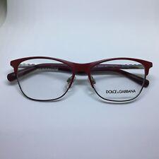 DOLCE e GABBANA DG1246 occhiali da vista rosso metal red woman glasses lunettes