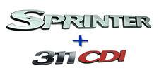 "Mercedes Sprinter Self Adhesive Badge "" Sprinter & 311 CDI ""  Badge Emblem"