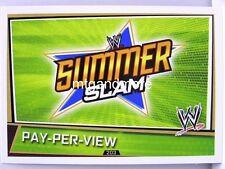 Slam Attax Superstars - #203 Pay-Per-View Summer Slam