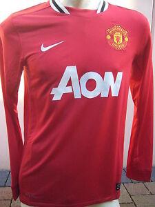 Nike | Manchester United ManU Trikot | AON Langarm | Men | rot | Größe XXL |