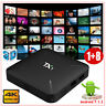 2019 TX1 Android 7.1.2 Quad Core 4K H.265 Smart TV BOX Media WIFI Network 3D NEW