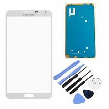 White Replacement LCD Screen Glass Lens For All Samsung Galaxy Note 3 III Phone
