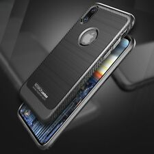 Noziroh Carbon Design iPhone X 10 Originale Cover Case + Vetro Temperato Curvo