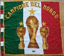 Italy Flag Football Soccer Italia Calcio Campione del Mondo 48x65 Bandiera