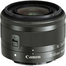 New Canon EF-M 15-45mm F3.5-6.3 IS STM Lens for EOS M - Brand New - USA Ship