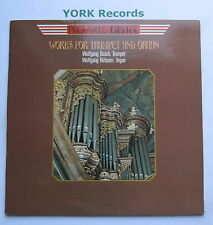 PAD-103 - WORKS FOR TRUMPET & ORGAN - BASCH / RUBSAM - Excellent Con LP Record