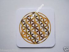 Set 6 x Energy Cards - The Flower of Life Vita Pad (Multicolor) COASTER