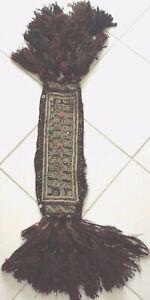 Pferde Tier Schmuck Halsband Stickerei Handgewebt Kelim Antique animal jewelry