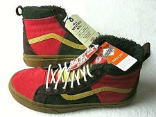 Vans Mens Sk8-Hi 46 Mte Dx All Weather Skate shoes Poinsettia Forest Size 9.5