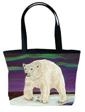 Polar Bear Handbag, Tote Bag by Salvador Kitti, From My Painting