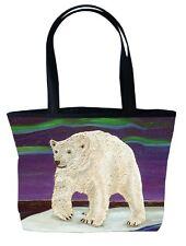 Polar Bear Handbag, Tote Bag by Salvador Kitti, From My Painting