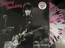 JOHNNY THUNDERS - MADRID MEMORY Splatter Vinyl LP (New York Dolls) Born to Lose