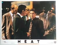 "ORIGINAL 1995 LOBBY CARD 14"" x 11"" - ""HEAT"" - AL PACINO - DE NIRO - VAL KILMER"