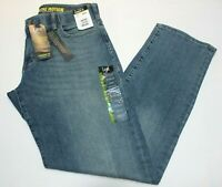 "Men's ""Lee"" Extreme Motion Straight Fit Faded Blue ( Radical) Tapered Leg Jeans"