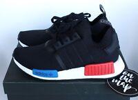 Adidas NMD OG Runner PK Primeknit Black Red Blue S79168 5 6 7 8 9 10 11 12 New