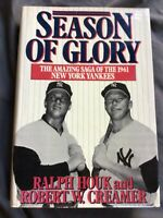 Season of Glory: Amazing Saga of the 1961 New York Yankees by Ralph Houk 1988 HC