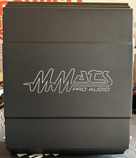 New MMATS Pro Audio M-1000.1D 1 Channel Monoblock Amplifier,USA,NOS,NIB