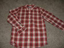 Gymboree Boys Kids Holiday Memories Dress Shirt Size Medium 7-8 yrs Christmas