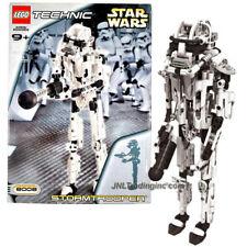 NEW 2001 LEGO Technic Star Wars Set #8008 STORMTROOPER Action Figure 361Pcs.