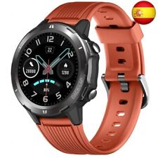 KUNGIX Smartwatch, Reloj Inteligente Impermeable IP68 con Pulsómetro  (Naranja)