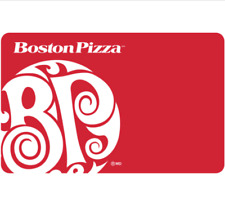 Boston Pizza Gift Card $25, $50, or $100 - Email Delivery