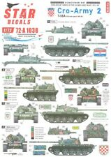 Star Decals 1/72 Croatian Tanks In The Homeland Part 2 T-55A Tanks 1991-1992