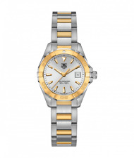 TAG Heuer Aquaracer 27MM Two-Tone Swiss Quartz Women's Watch WAY1455.BD0922