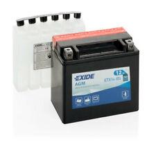 Batterie moto Exide ETX14-BS YTX14-BS 12v 12ah 200A