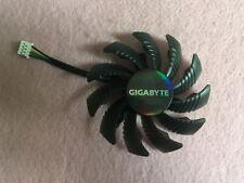 75mm GIGABYTE GTX960 GTX970 GTX980 Fan Replacement 40mm 4Pin PLD08010S12HH R237