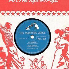 UK #1 Elvis Presley 78 ALL SHOOK UP/THAT'S WHEN YOUR HEARTACHES HMV Pop 359 E -