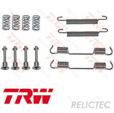 Brake Shoe Fitting Kit fits BMW 316 E30 1.6 Rear 87 to 91 TRW 21106460000 New