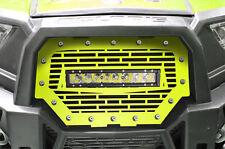 "RZR 1000 Light Bar Grille Polaris UTV 16-17 Lime Squeeze w/ 10"" 40W LED Lightbar"