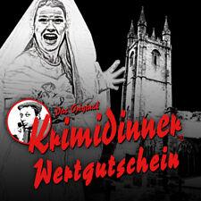 Das Original KRIMIDINNER® - Hochzeit in Schwarz in Frankfurt - Gutschein