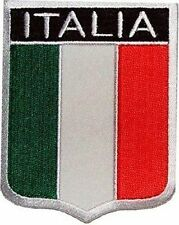 ITALIA SHIELD FLAG Italian Italy Quality MC Motorcycle Biker Vest Patch PAT-0990