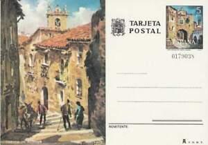 Spanje briefkaart tarjeta postal onbeschreven - Cuesta de Aldana (02)