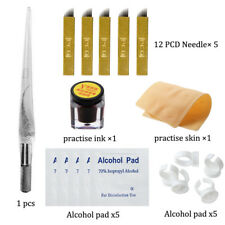 Permanent Makeup Tattoo Eyebrow Practice Kit Tattoo Pigment Microblading Pen
