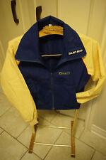 Sun Ice promo Export A cigarettes light jacket vtg tobacco sports  blue yellow