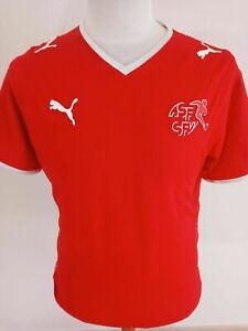 Camiseta de fútbol de la selección nacional de Suiza 2008-2010 (XL) Puma...