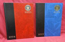 2 Book Lot-Rolls-Royce Owners' Club, 2004 & 2005 Desk Diary