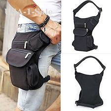 Military DROP Leg Bag Utility Bag Waist Belt Pouch Outdoor Sports Bike Hiking
