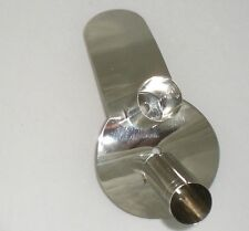 Roach Spreader, N.Traditional, 2 Socket, Plain, German Silver    c