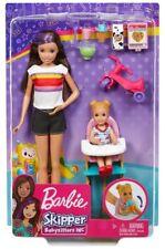 BABY flacone Babyphone ***/% coperta pannolini /% *** BARBIE SKIPPER BABYSITTER-Set