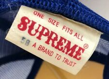 RARE Vintage SUPREME Made SnapBack Mesh Cap Charlotte Hornets Rope Trucker NBA