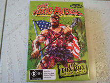 TROMA THE TOXIC AVENGER THE TOX BOX COMPLETE 4 MOVIES DVD COLLECTION BOX SET RAR
