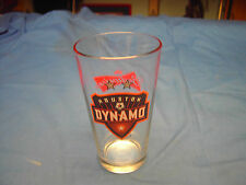 HOUSTON DYNAMO Budweiser 14 oz Beer Glass Great Condition