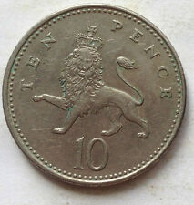 Great Britain 10 Pence 1992 coin (A)