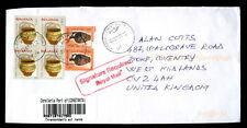 Romania 2011 Registered Cover To UK #C3607